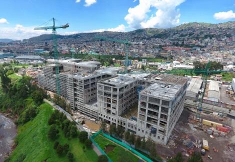 CONSTRUCCION DE UN NUEVO HOSPITAL EN QUITO (ECUADOR)