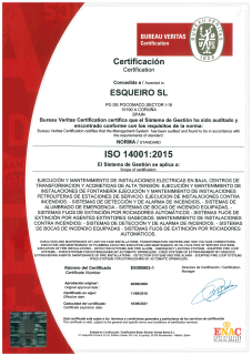 ISO 14001:2004 e ISO 9001:2008