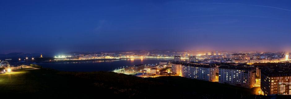 Iluminación Concello da Coruña
